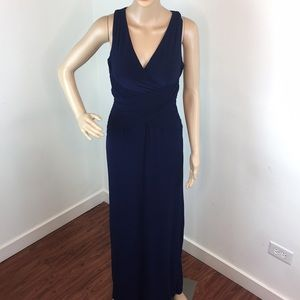Laundry Shelli Segal Blue Gown